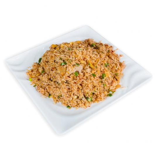 3. Spicy Pork & Kimchi Fried Rice 泡菜辣肉炒飯
