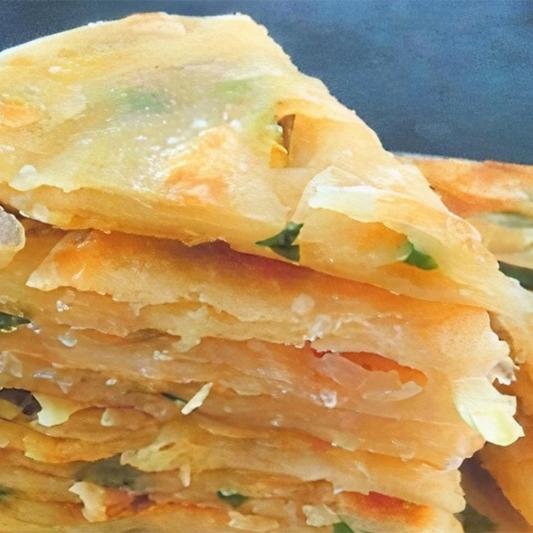 7. Scallion Pancake 蔥油餅