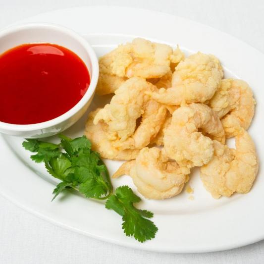 Deep-Fried Prawns with Special Spicy Salt 椒盐蝦