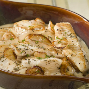 45. Halibut in Special House Sauce