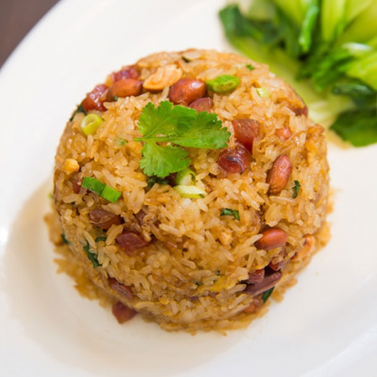 162. Sticky Fried Rice with Meat