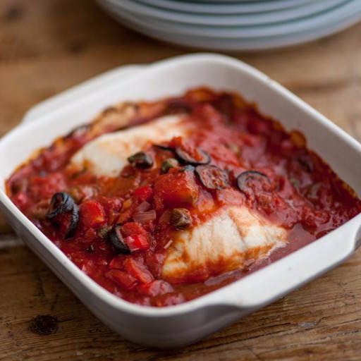44. Cod Fillet in Ketchup Sauce