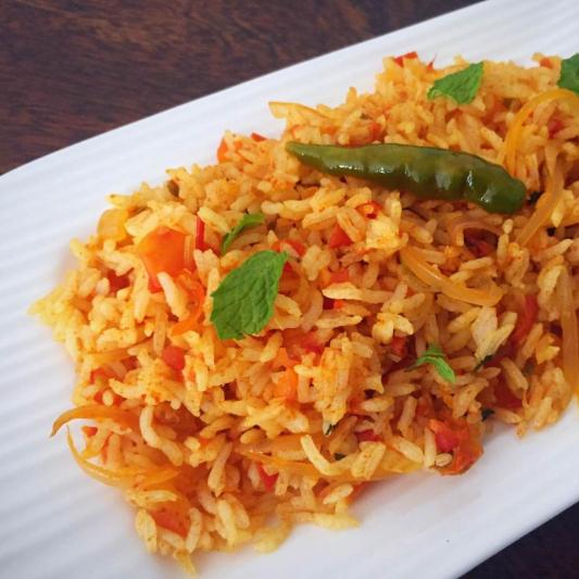 3. Tomato Rice