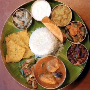 Fish Thali Platter