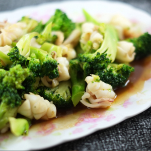 69. Squids with Broccoli