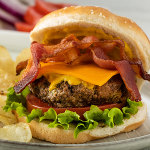 150. Bacon & Cheese Burger