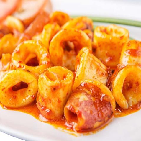67. Squids in Curry Sauce