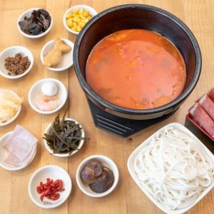 R10. Kimchi Beef Rice Noodle Soup
