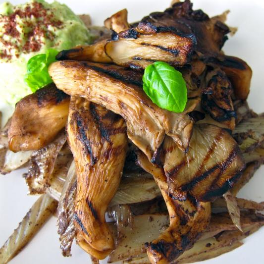 18. BBQ Oyster Mushroom (2) 皇子菇