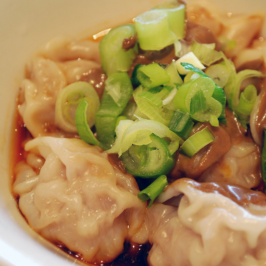 D.1 Wontons in Chilly Sauce