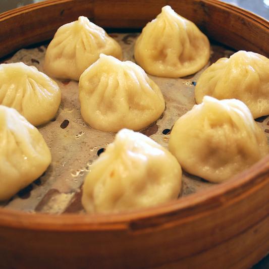 D10. Shanghai Style Steamed Dumplings