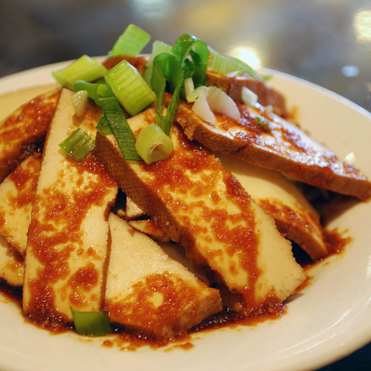 E3. Marinated Dried Tofu
