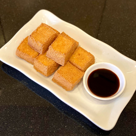 E9. Deep Fried Tofu