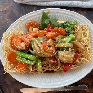 39. Crispy Chow Mein