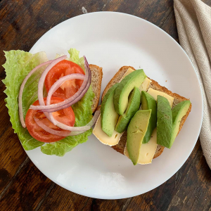 22. Avocado and Brie Sandwich