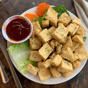 5. Fried Tofu