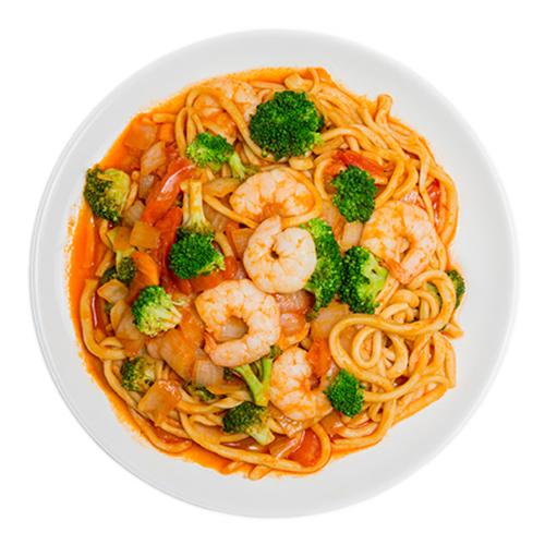 9. Tomato Stir-Fried Noodles 番茄炒面
