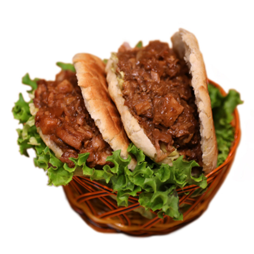 Chinese Sandwich Pork 猪肉夹馍
