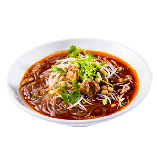 13. Spicy Jelly Noodles 凉粉