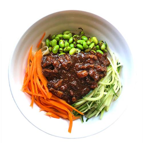 5. Noodles with Minced Pork Paste 炸酱面