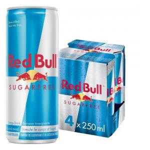 Red Bull Sugar Free Energy (4 pack)