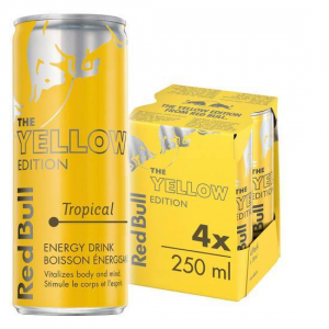 Red Bull Yellow Edition Energy (4 pack)