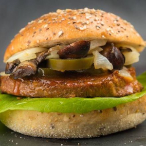 Spicy Plant-Based Sandwich