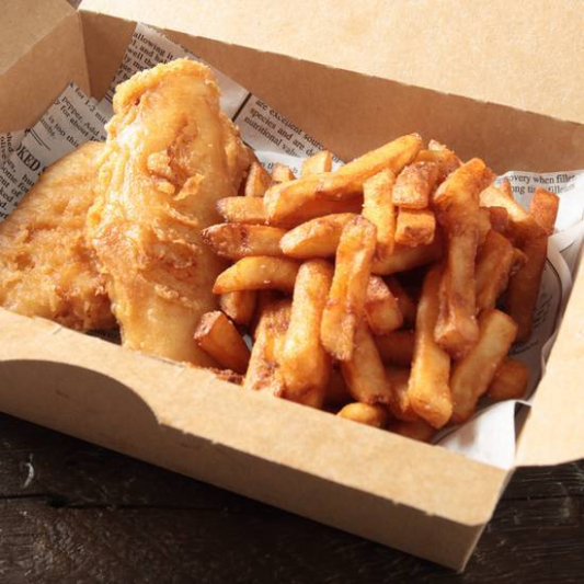 Haddock (2 pcs)  & Fries