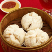 16. Steamed BBQ Pork Buns (3 pcs) 蒸叉燒包