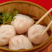 7. Steamed Shrimp Dumplings (4 pcs) 蝦餃