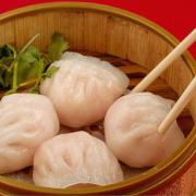 7. Steamed Shrimp Dumplings (4 pcs) 蝦餃