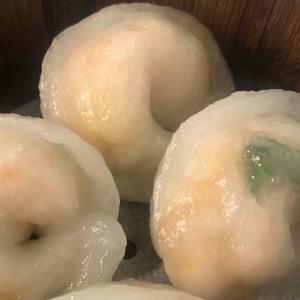 10. Steamed Scallops Dumplings (4 pcs) 帶子餃