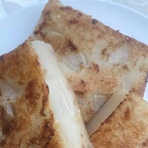 116. Pan Fried Turnip Cake (3 pcs) 萝卜糕