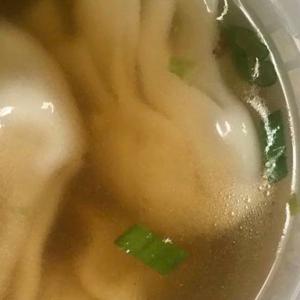 1. Pork Wonton Soup 豬肉雲吞湯