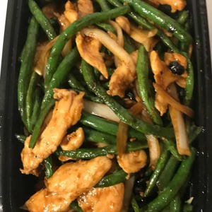 36F. Chicken with Green Beans & Black Bean Sauce 豉汁鸡片四季豆