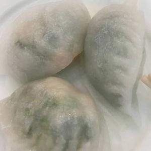102. Steamed Shrimp & Snow Pea Tips Dumpling豆苗饺