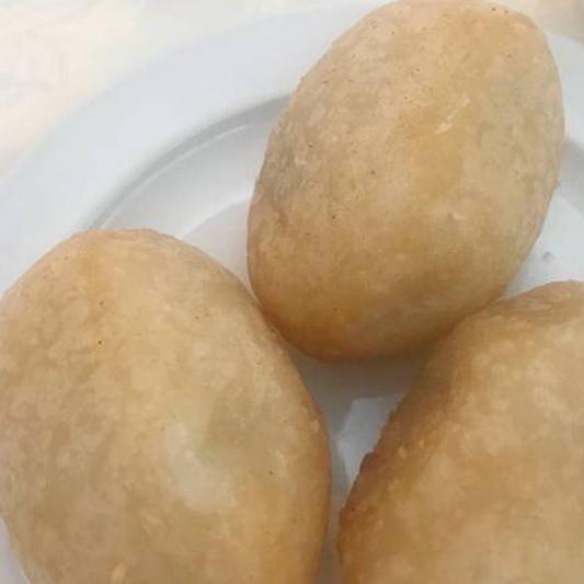 112. Deep Fried Meat Dumpling 咸水角