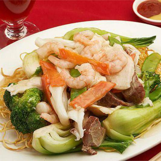 56. Cantonese Chow Mein 廣東炒麵