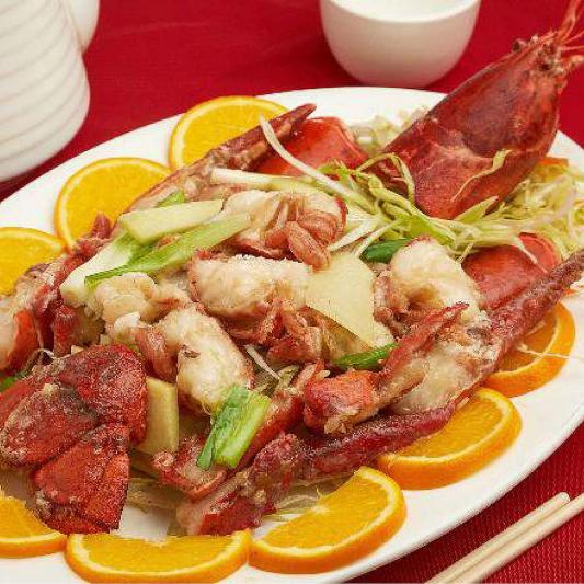 49. Baked Lobster with Ginger & Shallots 薑葱焗龍蝦