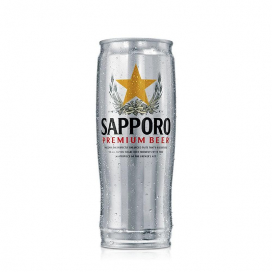 166. Japanese Beer (Sapporo)