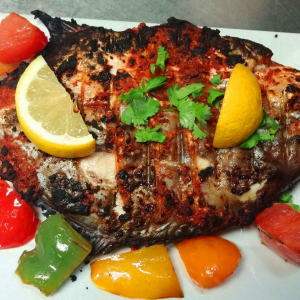 Grilled Golden Pompano