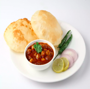 63. Poori with Cholle