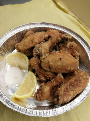 3. Deep Fried Chicken Wings