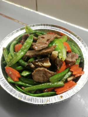 59. Beef with Oyster Sauce