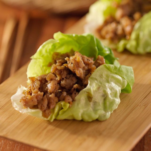 11. Minced Chicken Lettuce Wrap