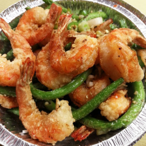 70. Rock Salted Prawn in Shell