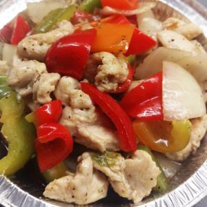 38. Chicken in Black Pepper Sauce