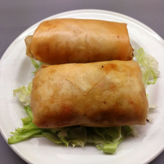 10. Fried Seafood Spring Roll