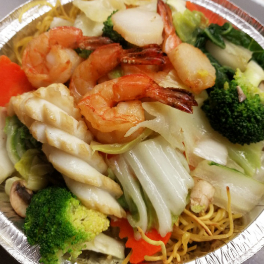 105. Seafood Fried Noodle or Vermicelli