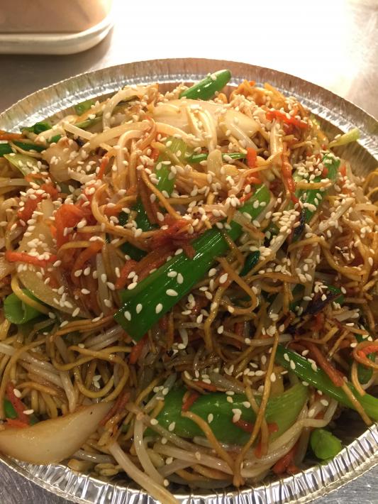 103. Vegetarian Stir Fry Noodle